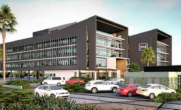 Artist's impression of the Youi headquarters to be built at Sippy Downs in 2016-2017, supplied by KHA Development Management.