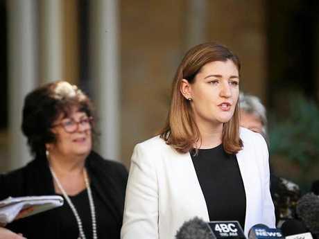 Child Safety Minister Shannon Fentiman