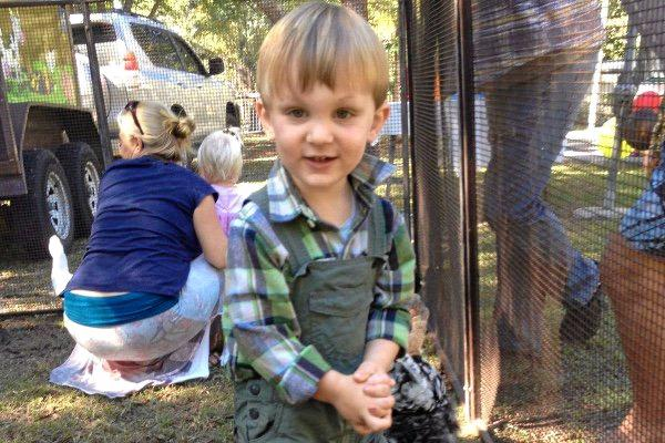 Two-year-old Eli Campbell is bravely fighting a Taipan bite he suffered in September.