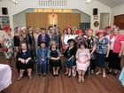 COLOURFUL: The QCWA Maranoa Division ladies with their fascinators and hats at the division fundraiser at the Brigalow Hall on Saturday morning.