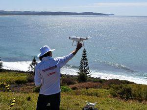 A world-first shark spotting proposal revealed