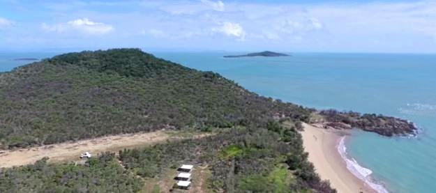Wild Duck Island is for sale. It's located 36kms east of Clairview in Queensland.