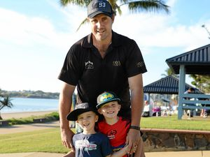 Family clocks up the k's at annual running festival