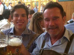 Arnold Schwarzenegger's birthday tribute to lovechild