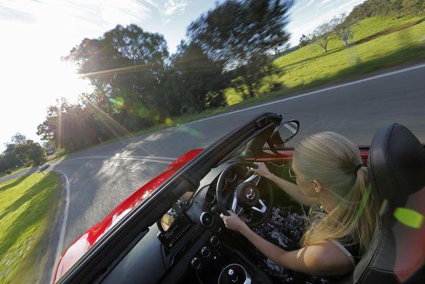 HAPPY CUSTOMERS: Seeking satisfaction? Apparently you need a Mazda.