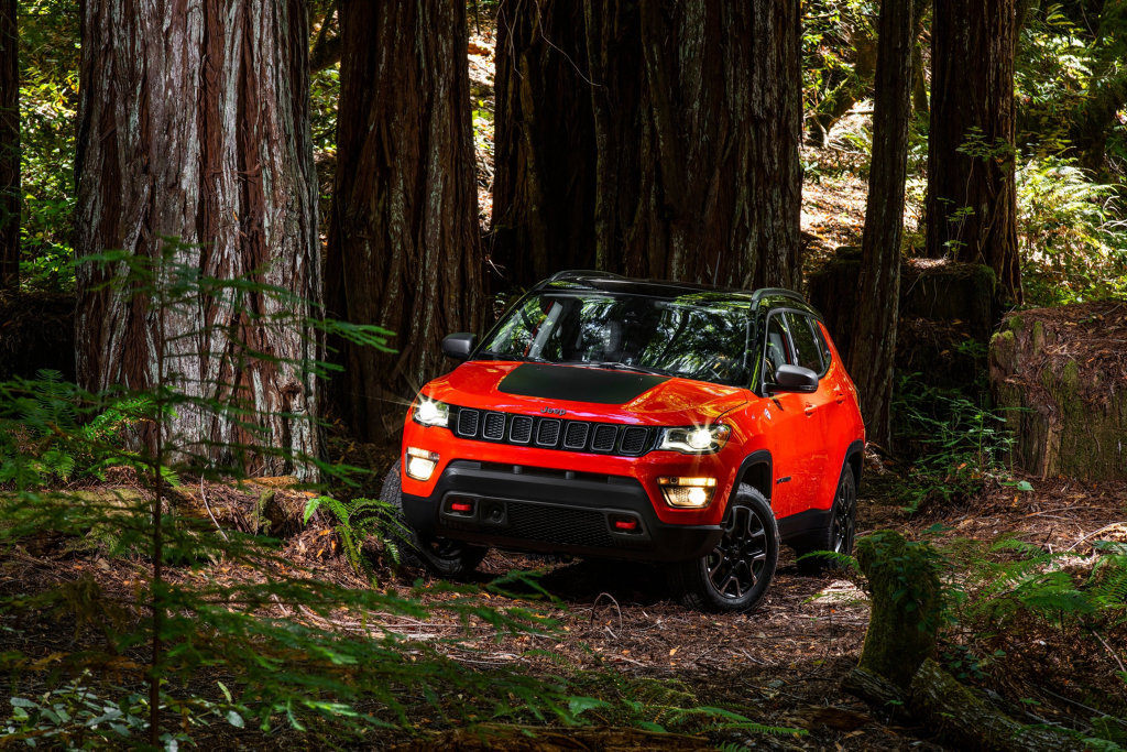 COMPASS POINTS: Global compact SUV will sit in the Jeep range between Renegade and Cherokee.