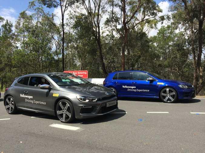 Volkswagen Driving Experience.