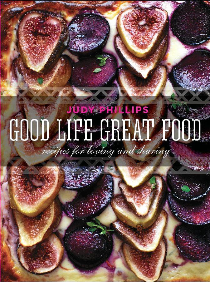 Australian foodie Judy Phillips has re-released her cookbook Good Life Great Food in time for Mental Health Week.