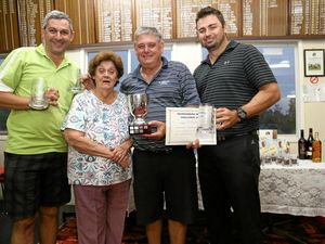 Golfers unite for contest
