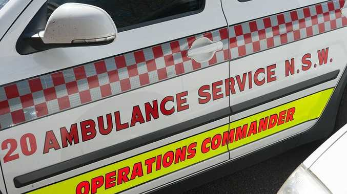 BREAKING: Two people assessed after Bruxner Hwy crash