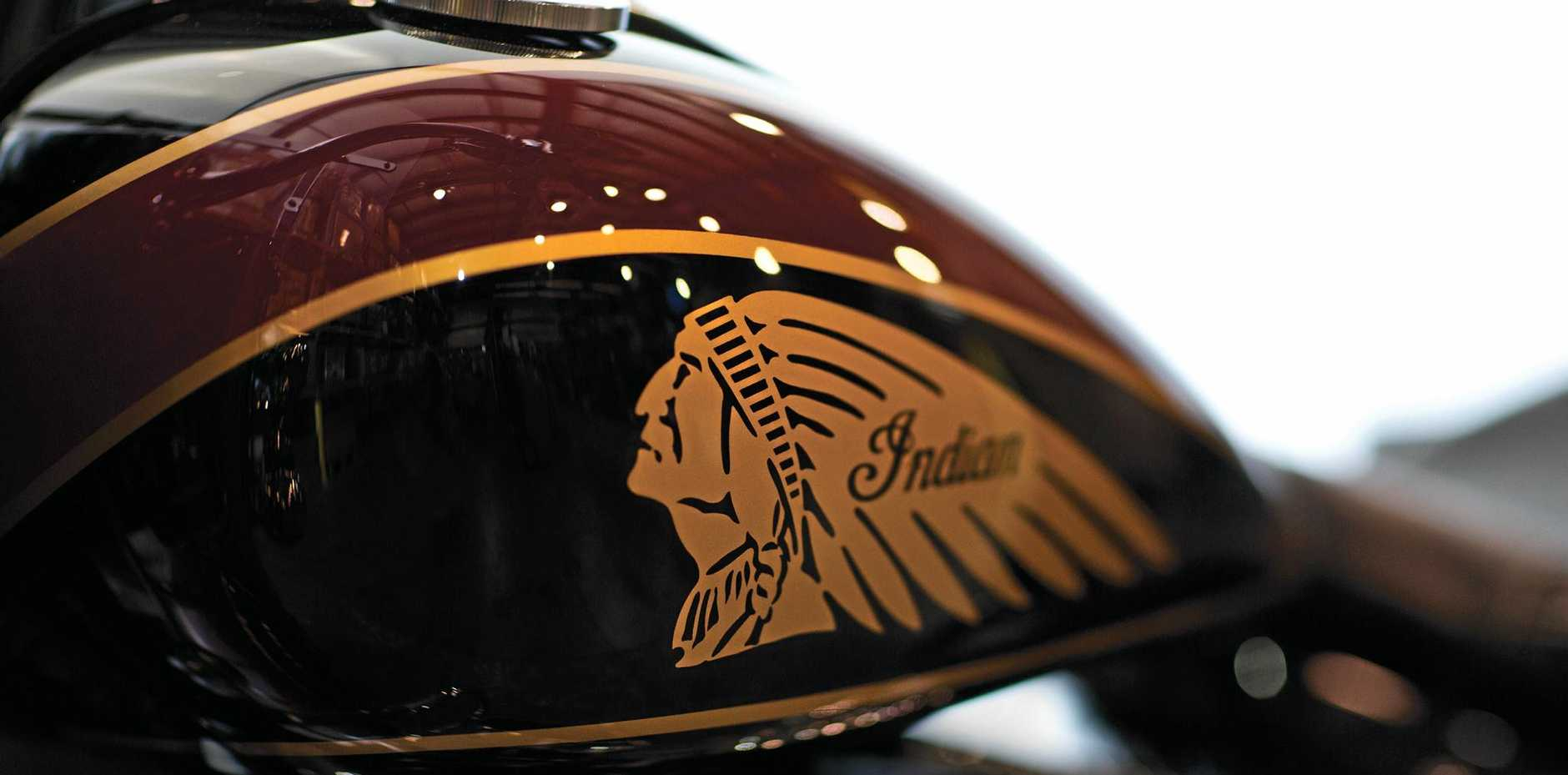 ONE OF A KIND: Indian Motorcycles will be part of a display at the Ipswich Historical Society's Cooneana Heritage Centre.