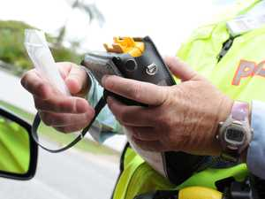 Two drink drivers more than two times the limit