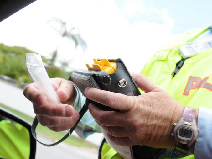 Police charged three people with drink driving during a traffic blitz near Corbould Park Racecourse.