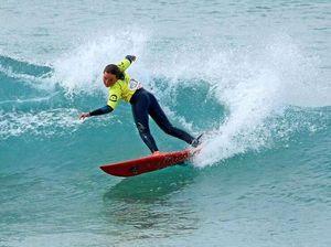 Carly surfs into junior award