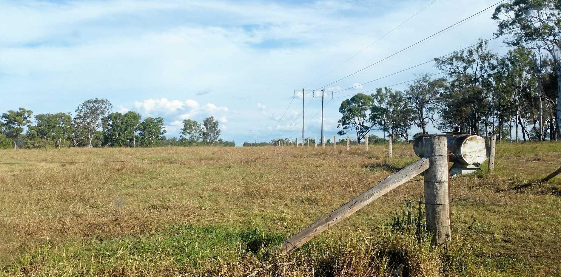 The future site of Eco Energy World's (EEW) solar farm at Aramara.