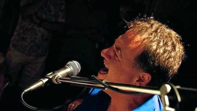 NEW JAM: Toowoomba blues musician Damian Black features on American guitarist Louie Shelton's latest album Bluesland.