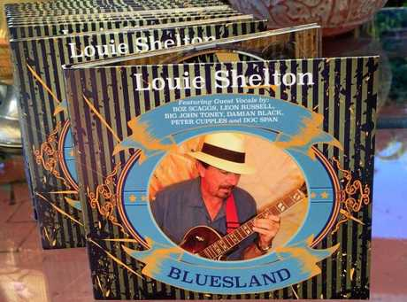 Louie Shelton's latest Cd Bluesland.
