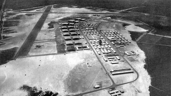 Evans Head Aerodrome, circa 1940.