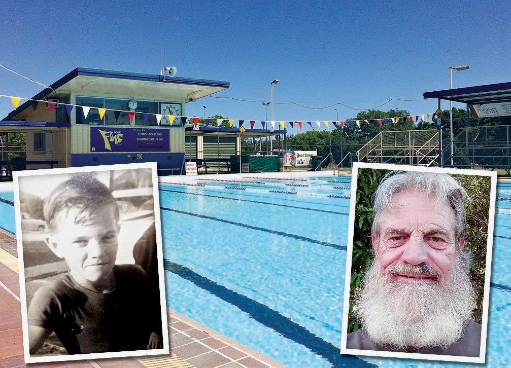Stan Betts has spoken up about his role in an incident at the Gympie pool almost 50 years after the event.