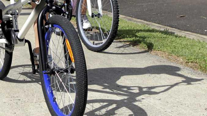 Bike paths in Ballina.