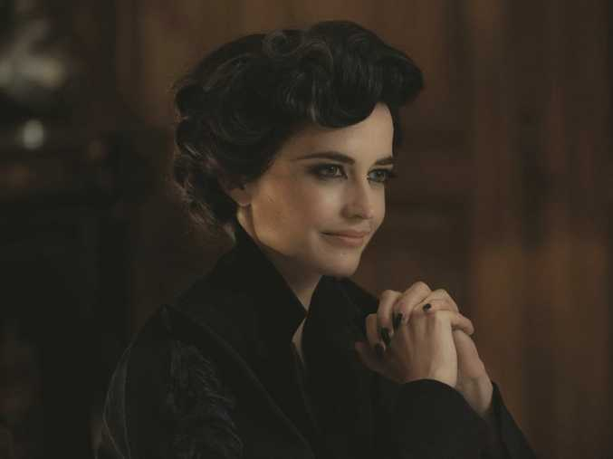 Eva Green in a scene from Miss Peregrine's Home for Peculiar Children.