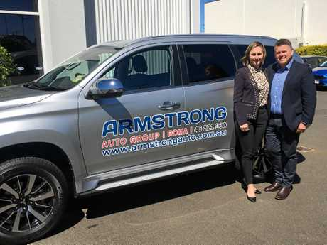 Armstrong Auto Group owners John and Jacqui Armstrong.