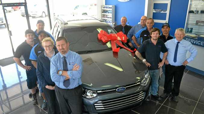 BIRTHDAY: The team at Armstrong Auto Group Roma will celebrate their first year in business with a massive sale on October 14-15.