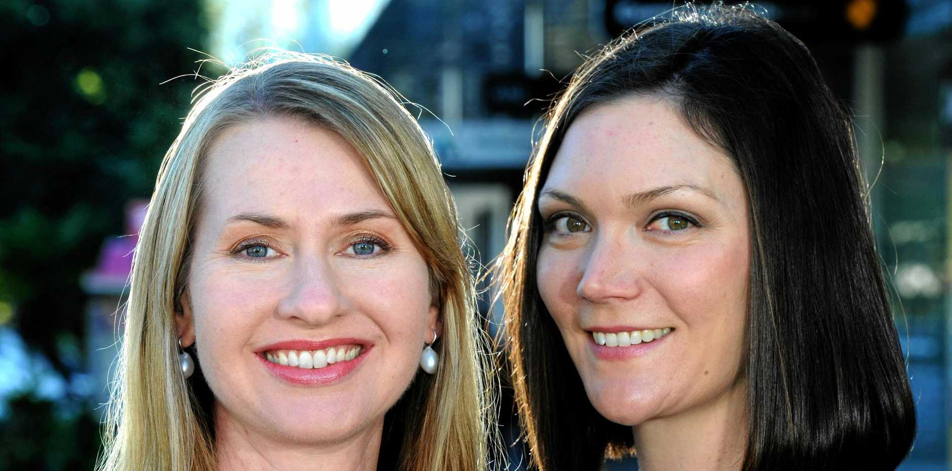 Jade Collins (left) and Alanna Bastin-Byrne, Founders of Femeconomy