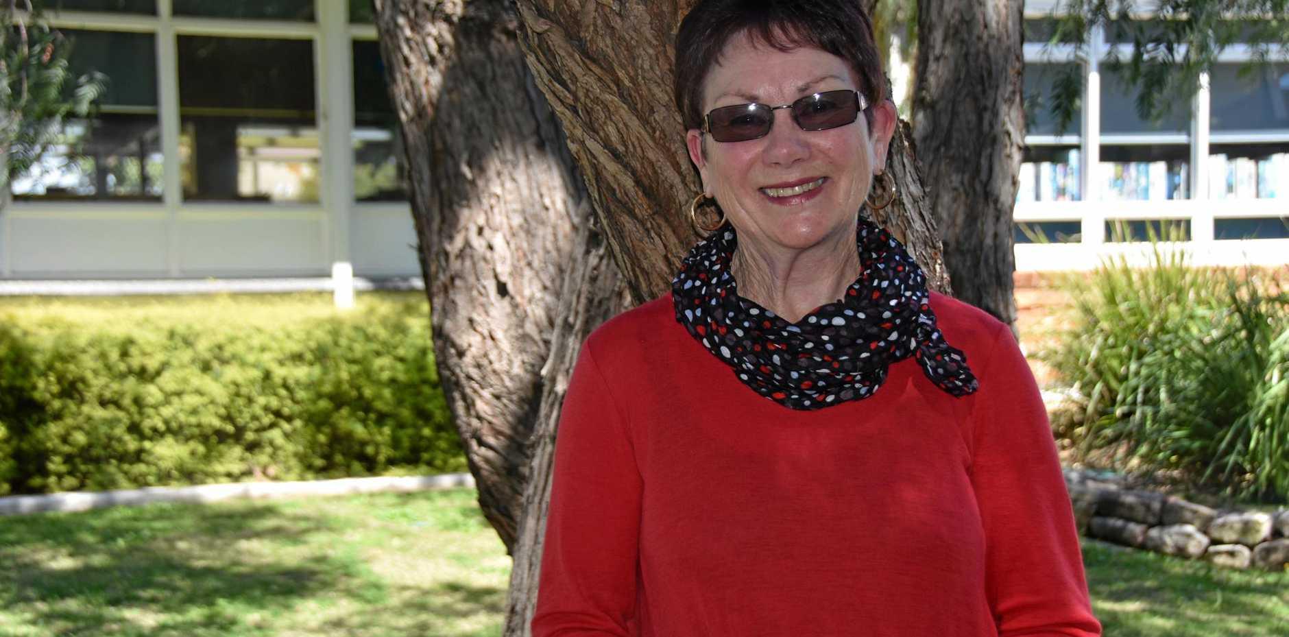 GET CHECKED: Cancer survivor Lynn Lane encouraged all those to keep up their regular cancer checks.