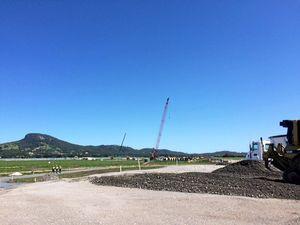 Solar panels move in at Sunshine Coast solar farm