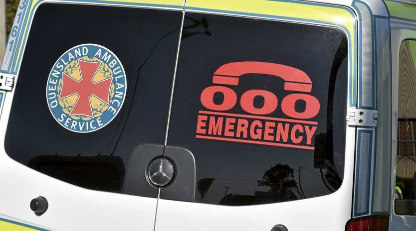 A woman has been airlifted to Brisbane after an incident at the Beerwah Aquatic Centre
