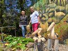 Meet Alice and her artist's wonderland