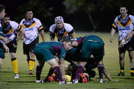 RUGBY UNION: Isis player Andrew Golchert. Photo: Mike Knott / NewsMail