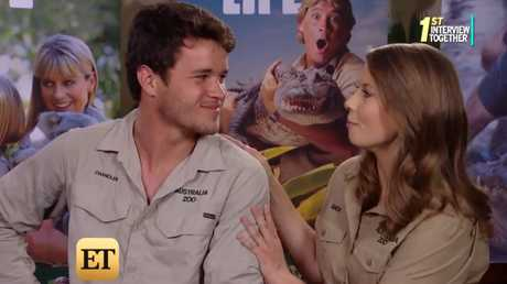 Bindi Irwin and Chandler Powell open up in the first joint interview.