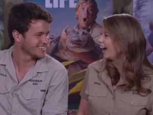 Bindi Irwin talks about boyfriend Chandler Powell