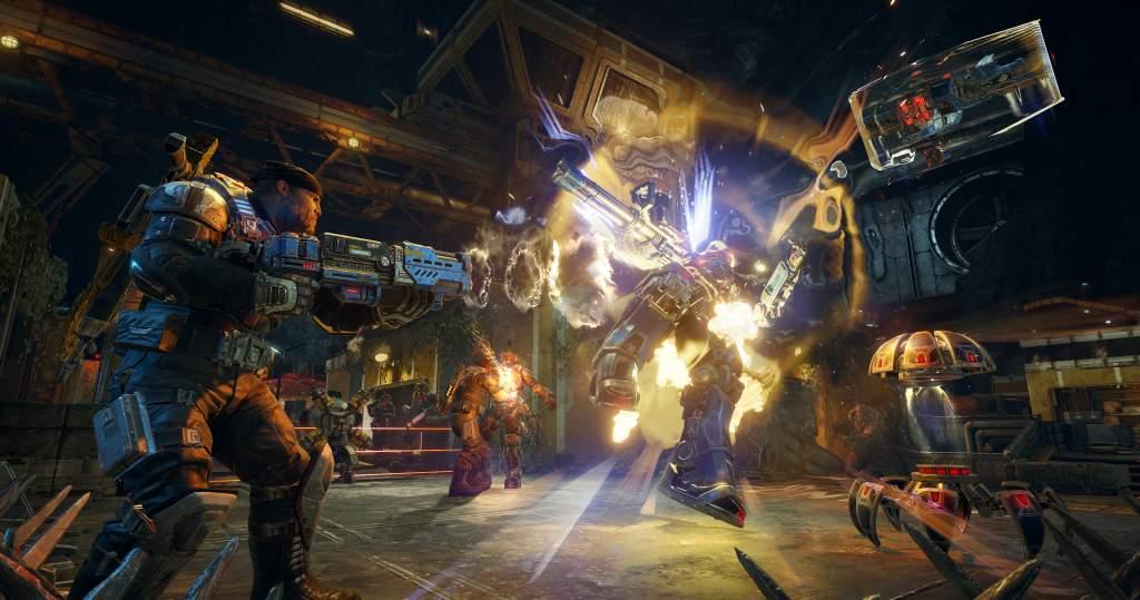 Overkill in Gears of War 4