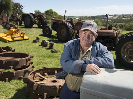 Clive Kowald is selling his collectiion of Ferguson tractors and an assortment of related and other items in a clearing sale.