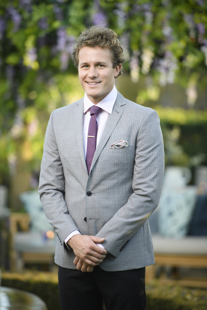 Noosa's Ryan Palk is a contestant on The Bachelorette. Supplied by Channel 10.