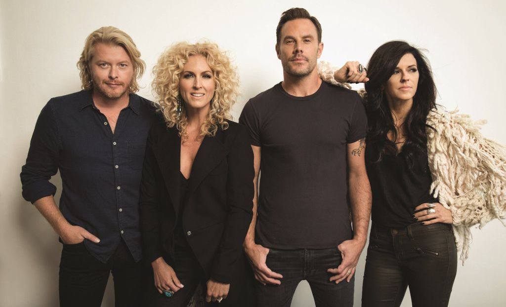US country music group Little Big Town joins the Dixie Chicks as headliners of the 2017 CMC Rocks festival.