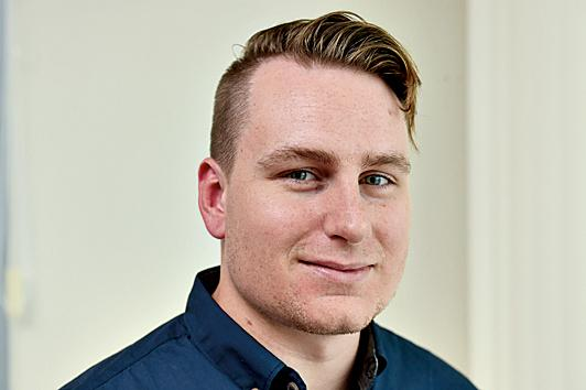 Jordan Philp - deputy editor Fraser Coast Chronicle. Photo: Alistair Brightman / Fraser Coast Chronicle