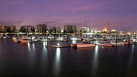 Pre-dawn at the marina, snapped by Bill Cameron.