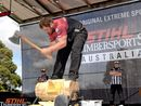 IT WILL be all or nothing on Saturday for Blackbutt axeman Mitch Argent when he lines up in the fifth and final round of the 2016 STIHL Timbersports Australian