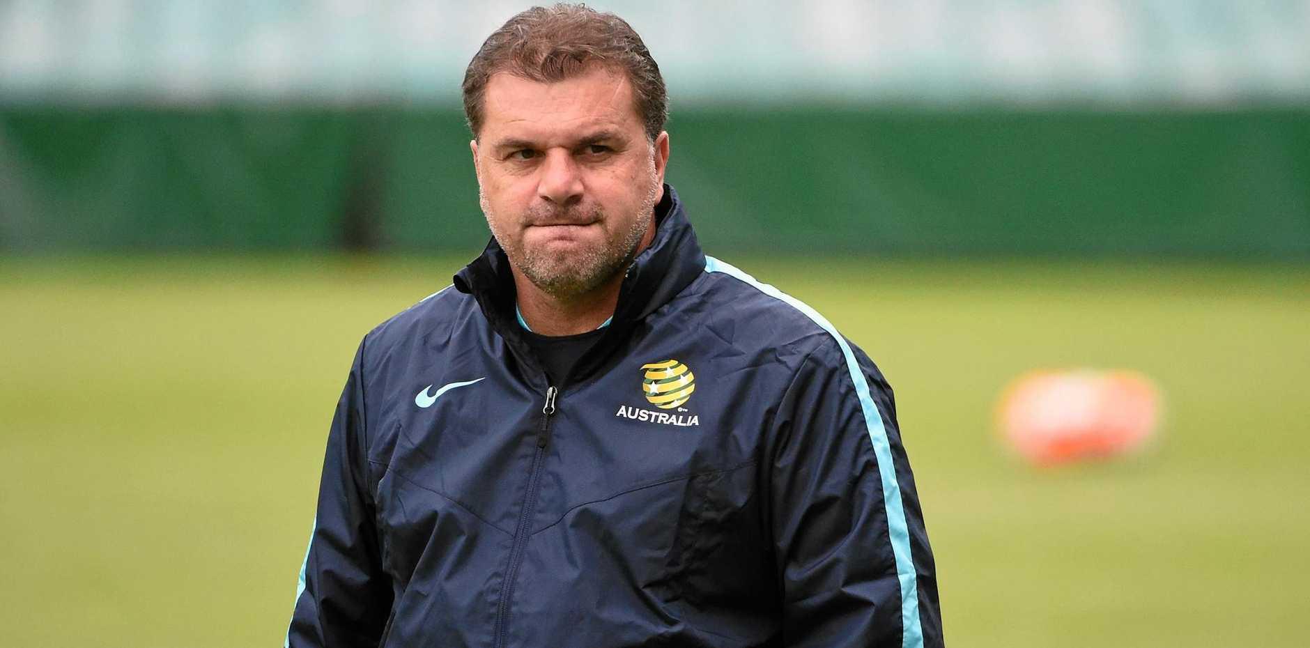 Socceroos coach Ange Postecoglou.