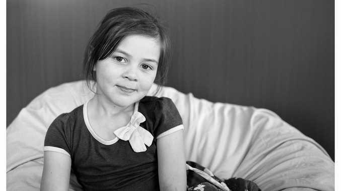 CUTE KID: Josephine McLaren turned seven yesterday.