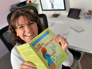 Mum 'killing time' becomes best selling author