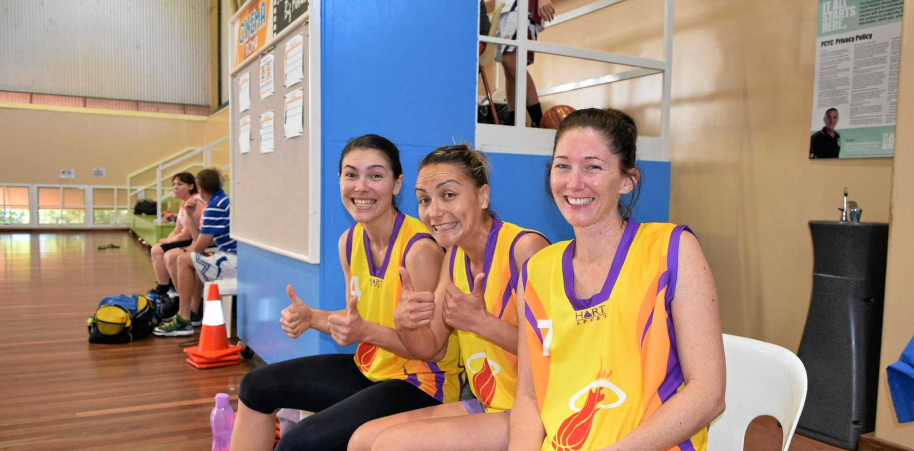GET INVOLVED: Open month for ladies basketball at the Maranoa PCYC.