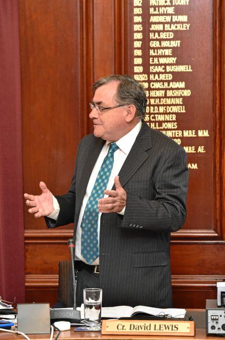 Fraser Coast Regional Council - Cr. David Lewis. Photo: Alistair Brightman / Fraser Coast Chronicle