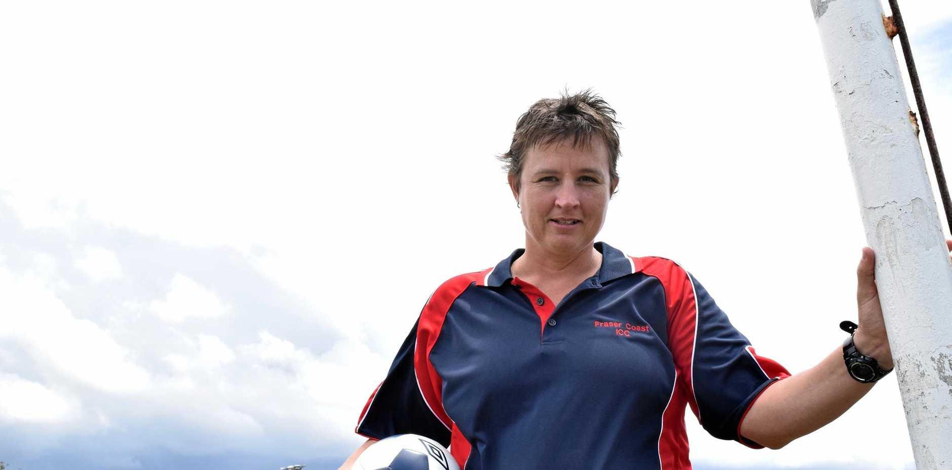 Former Matildas goalkeeper Belinda Kitching is returning to Ipswich to coach at Western Pride.