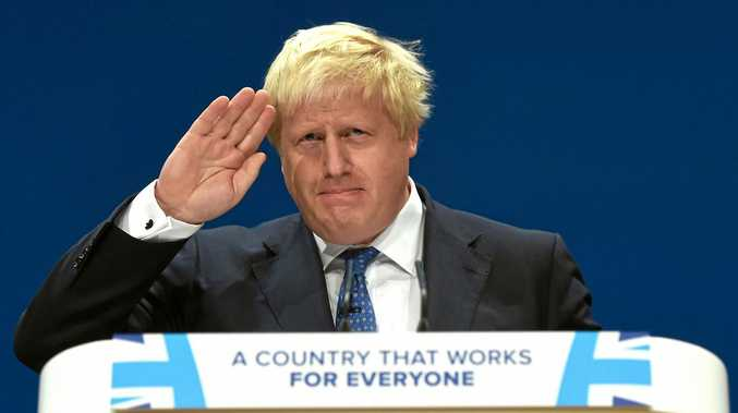 British Foreign Secretary Boris Johnson has been having a hard time keeping the government line.