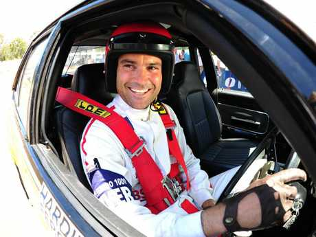 Matthew Le Nevez stars are Peter Brock in the mini-series Brock.